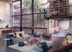 Stile industriale: nuove tendenze di arredamento casa