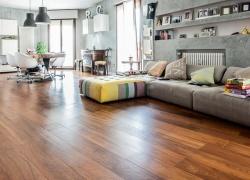 Pavimentazioni di interni moderne in legno